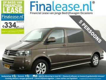 Transporter 2.0 TDI L2H1 DC 5 Pers Airco Cruise PDC €334pm