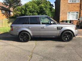 Range Rover sport 3.0 TD V6 HSE black edition Low mileage, extended warranty until aug 2018