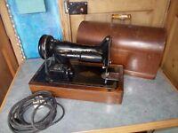 Vintage singer sewing machine dome case 99k 1951 centenary model