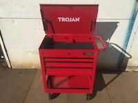 Brand new tool trolley roll cab with roller bearing drawers