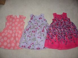 Girls Designer Dresses Age 12-18 months