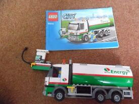LEGO City Town Tanker Truck 60016 Boxed 100% Complete