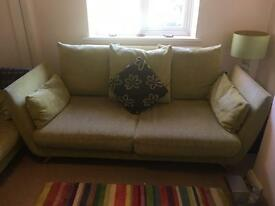 3 seater couch (two available)