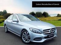 Mercedes-Benz C Class C220 BLUETEC SPORT (silver) 2015-11-18