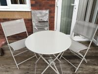 Grey Blooma Saba Garden Bistro Furniture Set