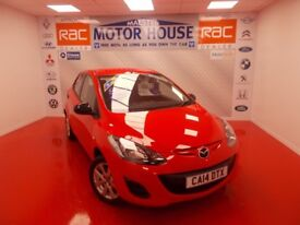 Mazda Mazda2 2 SE (ONLY 10000 MILES) FREE MOT'S AS LONG AS YOU OWN THE CAR!!! (red) 2014