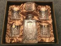 Brand New Essence 24% Lead Crystal from RCR - Whiskey Glass Set