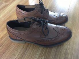 Boys brown communion/formal shoes size 3