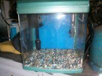 fish tank starter heater filter light graval