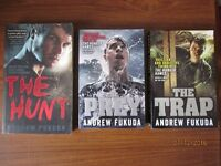 Andrew Fukuda Teen Fiction paperbacks - The Hunt; The Prey; The Trap