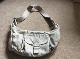Ladies beige Kipling bag