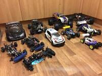 Wanted nitro or electric rc cars dead or alive