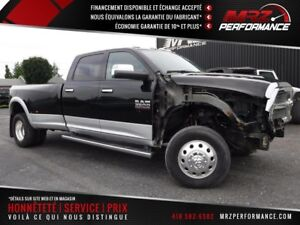 2013 Dodge Ram 3500 Laramie - Cummins - Double roue - FULL - Bas
