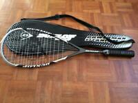 Squash Racquet - with bag - Dunlop