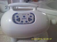 Air bubble massager for Bathtime