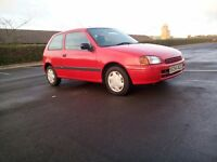 Toyota Starlet Automatic Low Warranted Mileage Nice Clean Tidy Car Excellent Drives Bargain Price