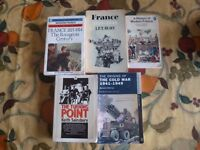 A Level History Books, France and Cold War