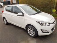 Nov 2012 White Hyundai i20 Active *ONLY 18700**Immaculate inside and out. 5dr MOT NOV