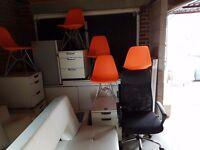 Cheap Office equipment, desks, chairs, locker cabinets, lockers