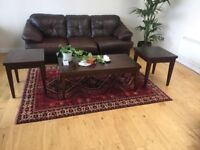 Coffee table and two end tables set - £50 obo