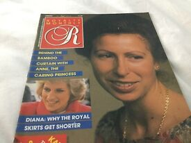 'Royal Monthly' magazines
