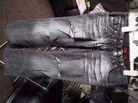 River Island dark grey jeans excellent condition