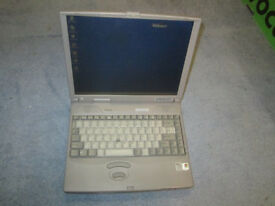 'Vintage' Toshiba Satellite Pro Laptop (Model 490XCDT)