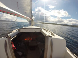Caribee Sailing boat, (21 feets)