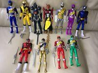 """Power Rangers figures 11"""" tall"""