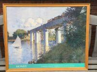 Framed Monet prints