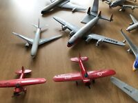 Hundreds of Model Airplanes -collectors dream of old vintage planes -spanning years