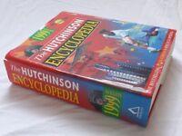 FREE : Hutchinson Encyclopedia 1999 Edition : Hardback : Excellent Condition