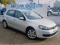 VOLKSWAGEN GOLF 1.6 MATCH TDI 5d 103 BHP A GREAT EXAMPLE INSIDE AN (silver) 2012