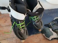 Rollerblade twisters. Top of range freestyle boots. Size 10 .Only used 3 times.