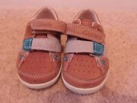 Boys Clarks first shoes 5G - in good as new condition