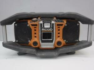 Ridgid Shock Mount Job Site Radio - We Buy and Sell Pre-Owned Construction Equipment - 31049 - OR1016405