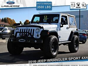 2016 Jeep Wrangler SPORT**4X4*CRUISE*A/C**