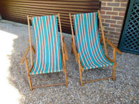 TRADITIONAL DECKCHAIRS