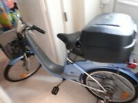 Electric bike reluctant sale due to foot injury have to sell