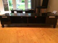 Black Gloss Next TV Unit & Display Unit