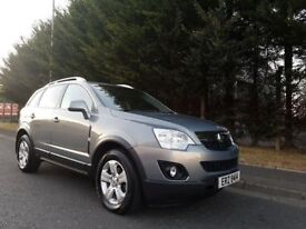 SEPTEMBER 2012 VAUXHALL ANTARA EXCLUSIV STOP/START 2.2CDTI 6SPEED 1OWNER FROM NEW FSH LOVELY EXAMPLE