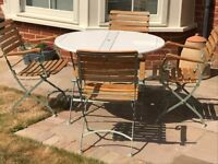 Laura Ashley Cottage Garden Patio 4-seater Dining Set