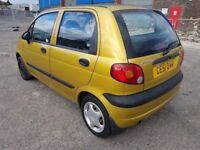 DAEWOO MATIZ RARE LOW MILEAGE 40K ( ANY OLD CAR PX WELCOME ) F.S.H, 15 MAIN DEALER SERVICE STAMPS