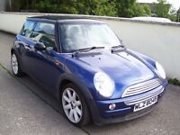 2002 MINI COOPER 1.6 PETROL MOT UNTIL DEC 2016