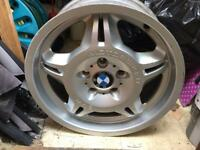 Genuine bmw e36 m3 evo alloys 7.5j 17 5x120
