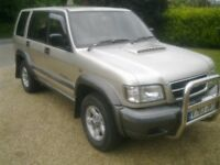 Isuzu Trooper 3.1 spares or repair