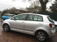 VW Golf Plus 1.6 TDI SE Blue Motion