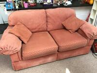Double seat sofa bed