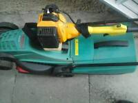 Bosch mower and petrol strimmer spare or repair