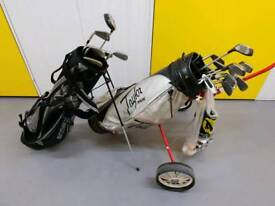2 Golf Sets With Carriers